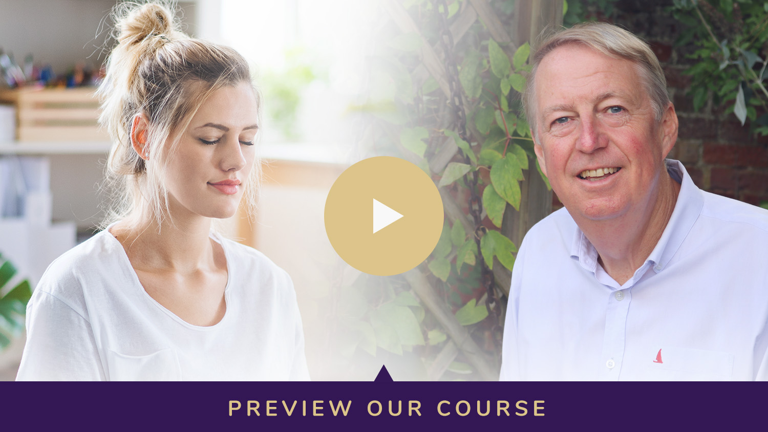 Preview video for our meditation course